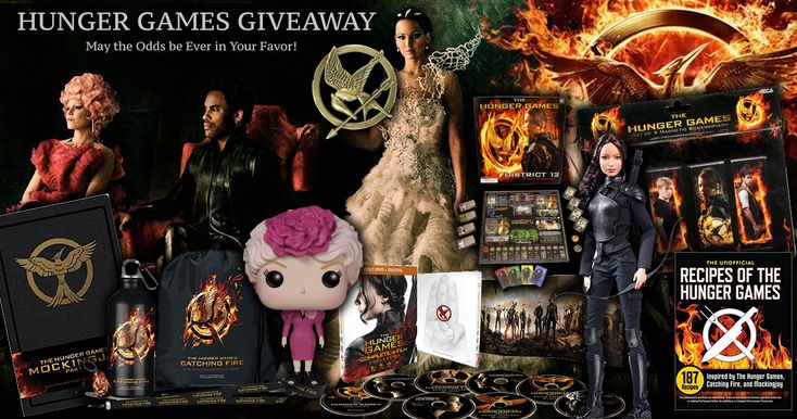 I really want to win this, so please click the picture above and enter for yourself using my link.    May the Odds Be Ever in Your Favor with this EPIC #HungerGames #Giveaway!