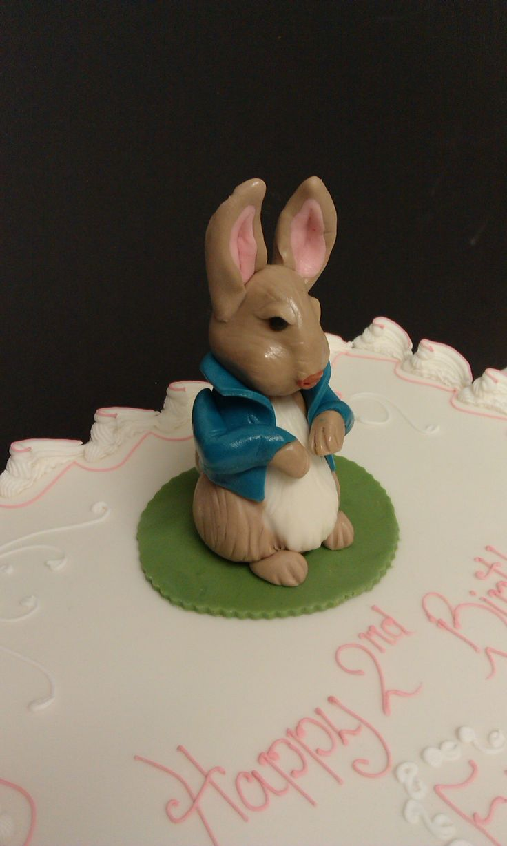 Rabbit Sugarpaste Model