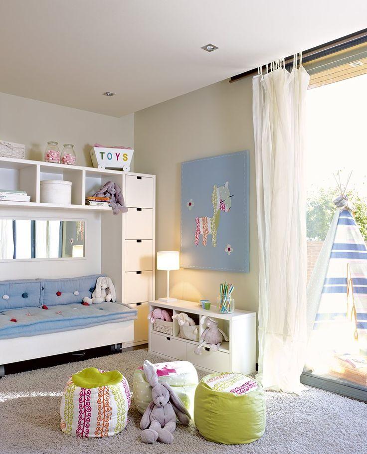 :-) 10 habitaciones infantiles bien organizadas · ElMueble.com · Niños
