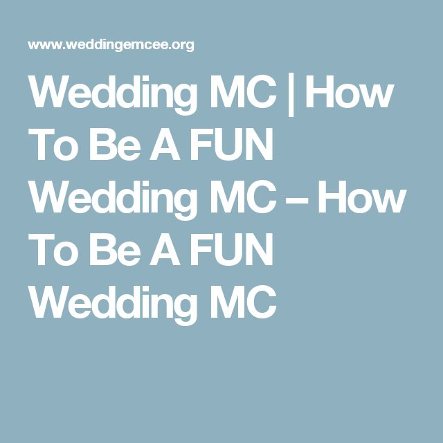 Best 25+ Wedding Mc Ideas On Pinterest