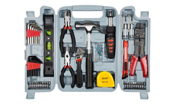 Stalwart 130-Piece Hand Tool Set with Carrying Case for $22 http://sylsdeals.com/stalwart-130-piece-hand-tool-set-carrying-case-22/