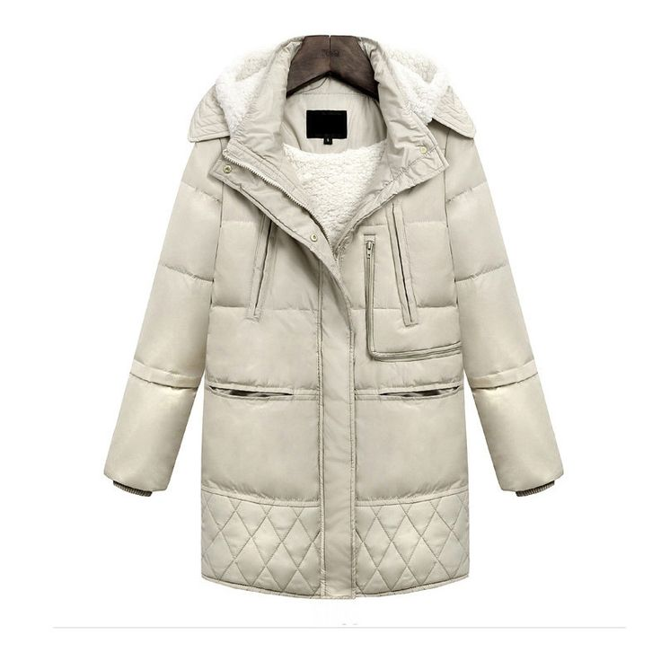 Hot Sale Autumn And Winter Womens Long Duck Down Coats Jacket Wool Goose Light Feather Snow Coat Plus Size Parkas Windbreaker * AliExpress Affiliate's buyable pin. Find out more on www.aliexpress.com by clicking the image