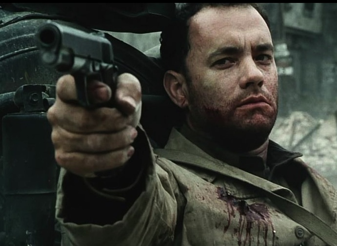 Tom Hanks. Saving Private Ryan.