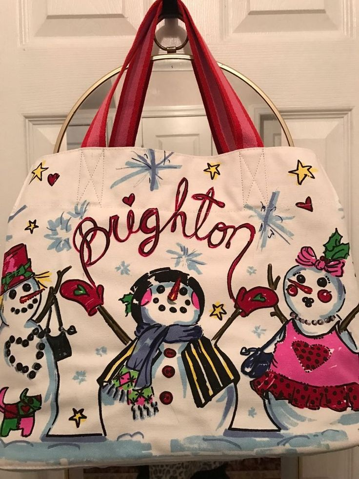 Brighton Snow Day Tote .High Quality NEW With Tag #Brighton #TotesShoppers
