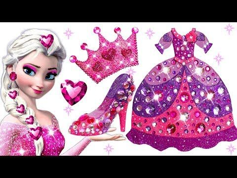 Doh Frozen Elsa Sparkle Play Learn Barbie Disney Colors Princess 7Yyvfb6g