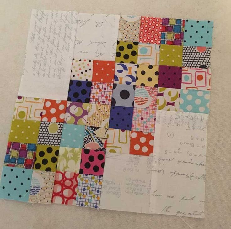 Patchwork quilt block