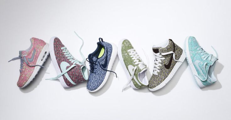 Liberty of London sur NIKE ID