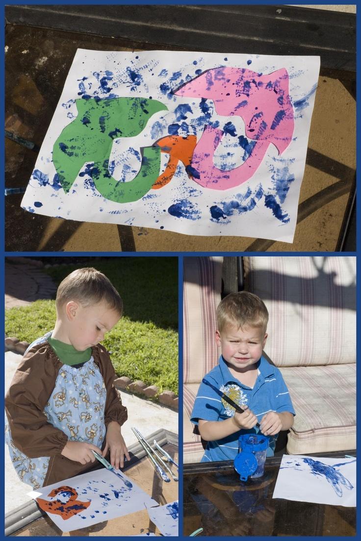 Mommy Lessons 101: U is for Umbrella preschool activities