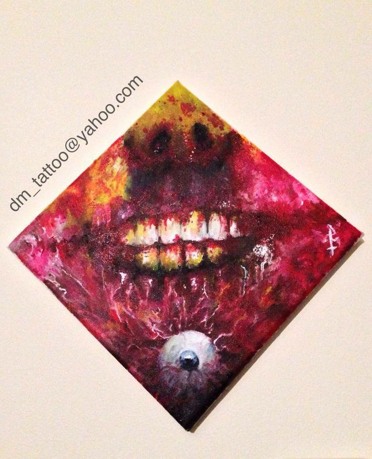 """The Russian experiment""  #Acrylic on canvas #painting"