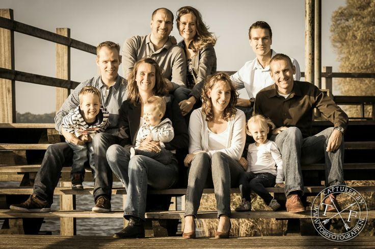 Tobefotografie: Familie foto, oude maas, herfst, gezinsfoto, portret