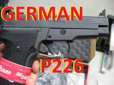German SIG Sauer P226 CPO 9mm Unboxing, Intro and Quick Shoot Find our speedloader now!  http://www.amazon.com/shops/raeind