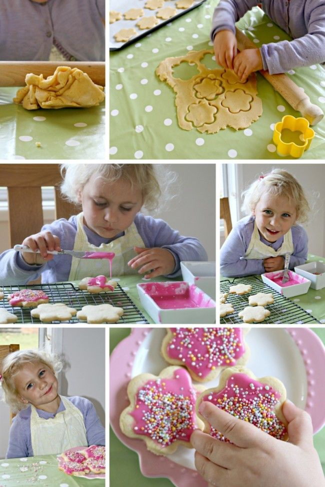 easy cut out cookies for kids