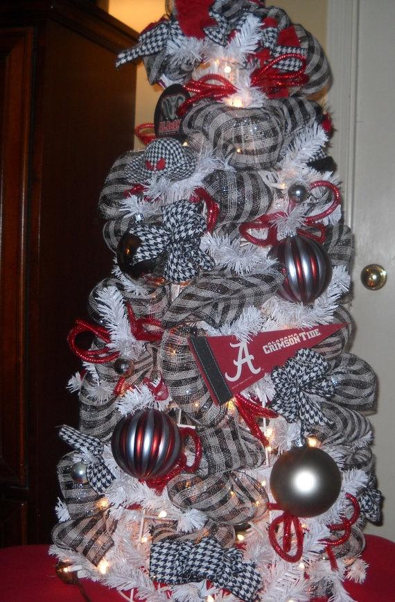 Roll Tide Christmas Tree