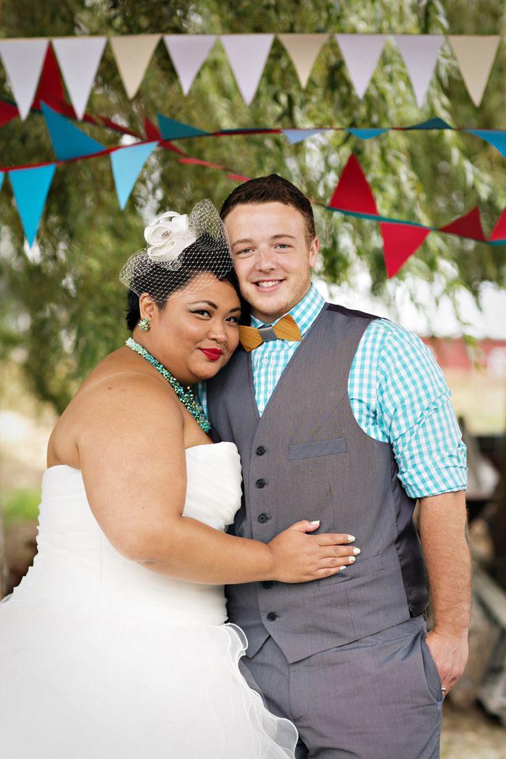 Marita & Loren's backyard Sunday queer and trans wedding