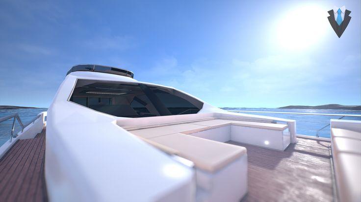 Yacht tour  #nigis #virtualreality #realtàvirtuale  #vrapp #vr #apprealtàvirtuale #immersivity #interactivity #personality #project #design   #project #design #yacht #sea #ocean