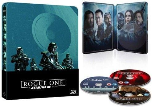 Rogue One: A Star Wars Story - Limited Edition Steelbook [3D Blu-ray  Blu-ray]
