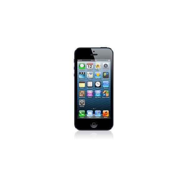 Apple iPhone 5 16GB Black (270 CAD) ❤ liked on Polyvore featuring accessories, phones, electronics, technology and iphone