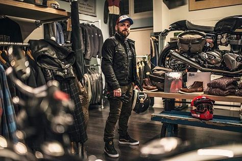 Perfect outfit for today! @uglybros_usa armored Motorpool pants & @belstaff Brooklands waxed jacket. Both in stock and waiting for you #rideinstyle #uglybrosusa #belstaff #puremotorcycle #hermanus #bruges #brugge #caferacergear #casualclothing #motorcyclegear #lifestyle #coffee #vintage #caferacer #motorcycle #bikes #fortheride #theroadishome #caffeineandgasoline #youmeetthenicestpeopleonamotorcycle #triumph #goodtimes pic @zjerome_photography
