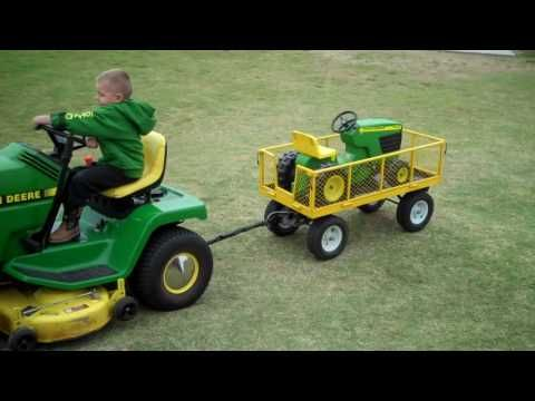 B's grandparents got him obsessed about John Deere and country music... oh boy. He loves this video.