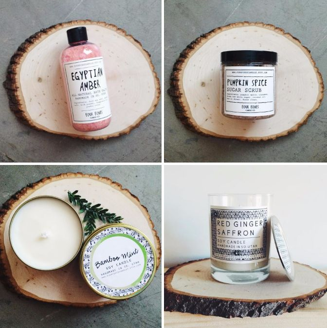 525 best christmas stocking stuffers images on pinterest christmas gift ideas from four foxes candles luxury hand poured soy candles in fragrances that negle Image collections