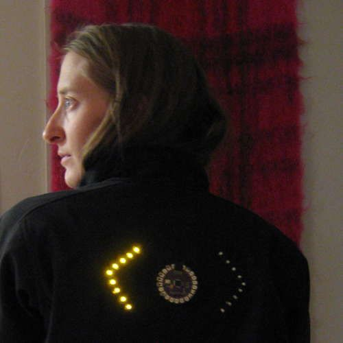 Using a Lilypad Arduino Microcontroller for embedding systems into clothes...What a fantastic idea!