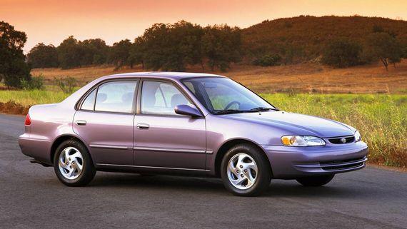 Седан Toyota Corolla LE 2002/ Тойота Королла LE 2002 восьмое поколение