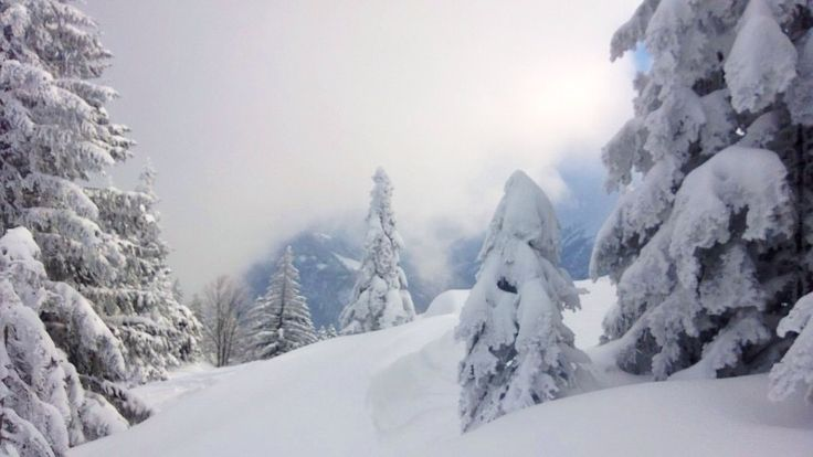 Skitour Bayern: Über das Abereck zum Heuraffelkopf: http://hikeandbike.de/2013/10/11/skitour-bayern/