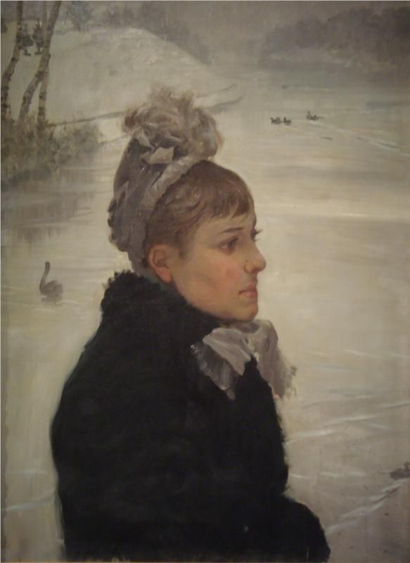 Presso al lago, 1879  Giuseppe de Nittis