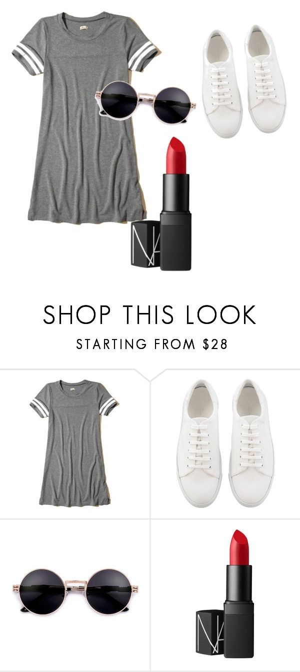 """""""."""" by valeria-arcos on Polyvore featuring Hollister Co. and NARS Cosmetics"""