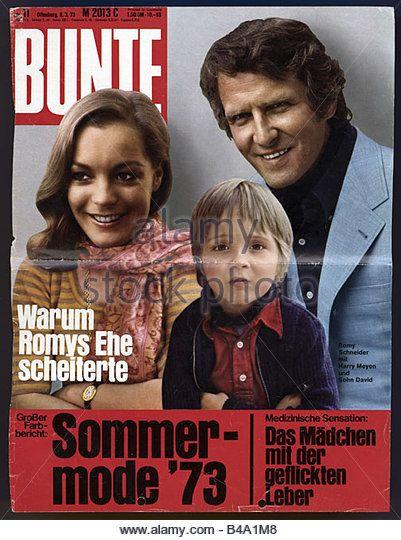 journals / magazines, 1973, Stern magazine, title number 11, Offenburg, 8.3.1973, title: Schneider, Romy, 23.9.1938 - Stock Image