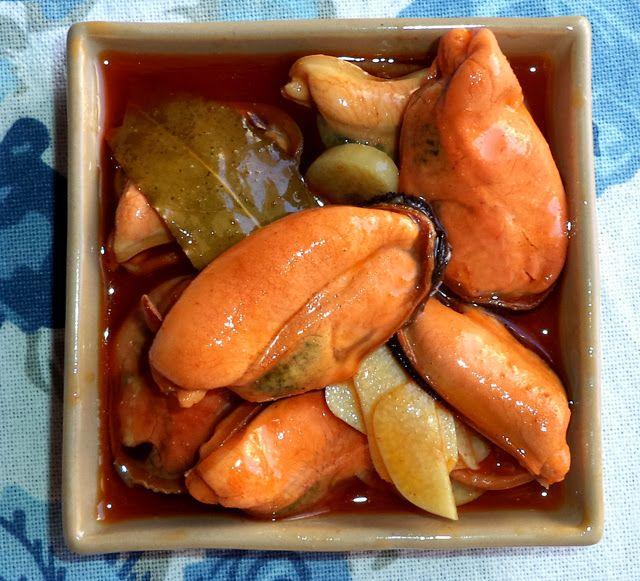 Mi bloguico de Cocina: Mejillones en Escabeche con Un Toque Picantito Y..... CONCURSO TABASCO!!!!