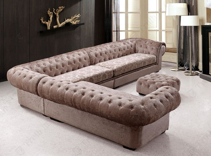 Tufted Sectional Sofa http://www.sofaideas.co/tufted-sectional