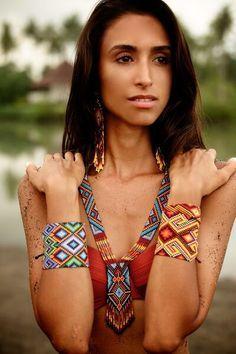 I L U M I N A on Pinterest | Tribal Patterns, Beads and Beadwork