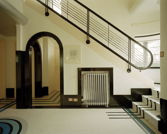 478 best art deco mad men images on pinterest news architecture and buildings - Deco moderne woning ...
