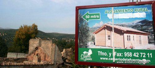 """#Granada - #Deifontes - Alojamientos rurales Caserío de La Fuente - 37º 19' 56"""" -3º 35' 5"""" / 37.332222, -3.584722  Junto al """"Nacimiento"""", la presa de Deifontes, estos alojamientos rurales nos ofrecen rutas para disfrutar de la naturaleza. Tfno: 958427211-Web: www.caseriodelafuente.com"""