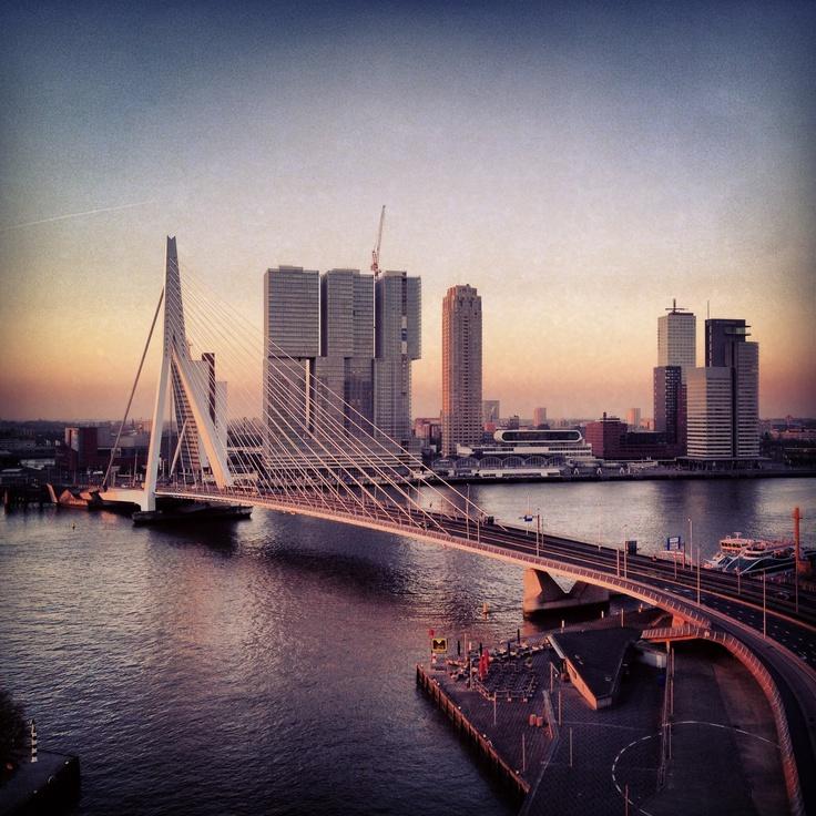 rotterdam architecture rem koolhaas bridge; ben van berkel