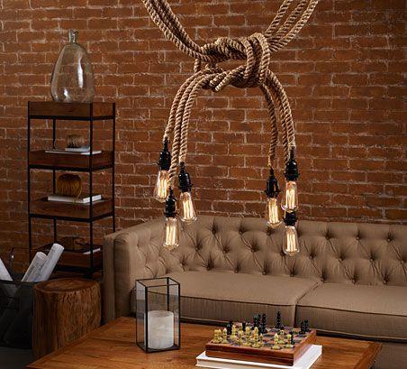 Jute Rope Electrical Cord Swag Kit Worldmarket Com
