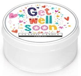 Get Well Soon  Classic Candle  Mini light