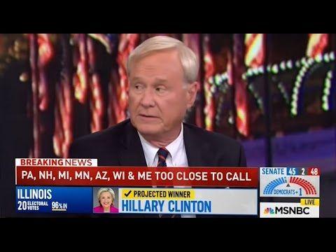 Chris Matthews utterly destroys Rachel Maddow on Hillary Clinton regarding wars/illegal immigration.