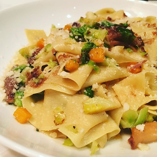 Congrats to Chef @chefcarmenq and the wonderful team at @unionsquarecafe on their reopening tonight! . . One of our favorite dishes..Pappardelle with Duck Confit.  #unionsquarecafe #nyc #reopening #welcomehome #unionsquarecafenyc