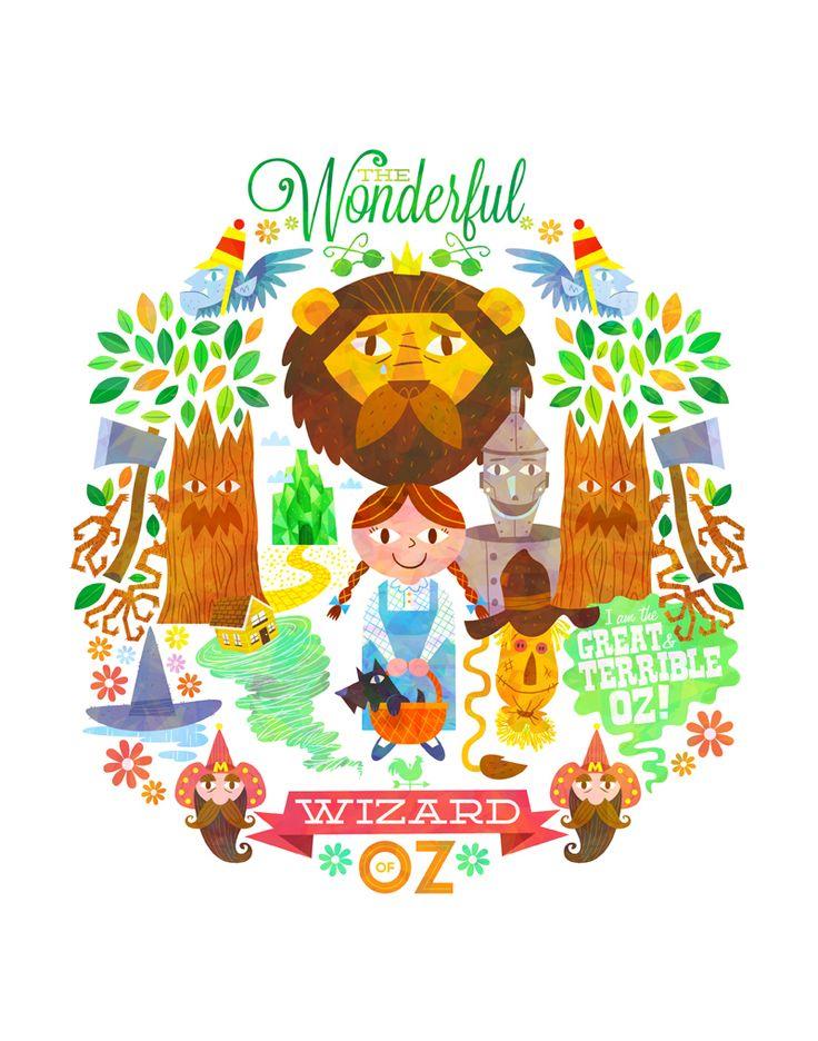 The Wonderful Wizard of Oz by Matt Kaufenberg
