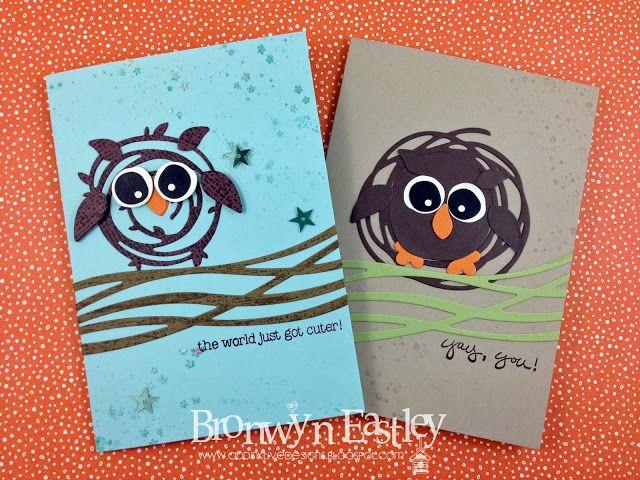 addINKtive designs: The World just got Cuter! - Swirly Scribbles Owl Take 2
