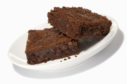 Rip Esselstyn's Dark Chocolate Brownies - Created for the Engine 2 Diet, this recipe will help you pass Drill 3 with flying colors. These brownies containing applesauce instead of oils and ground flax seed meal instead of eggs.