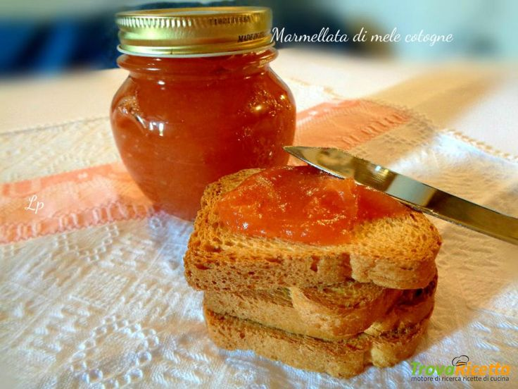 Marmellata di mele cotogne  #ricette #food #recipes