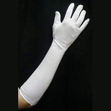 18 inch White Gloves