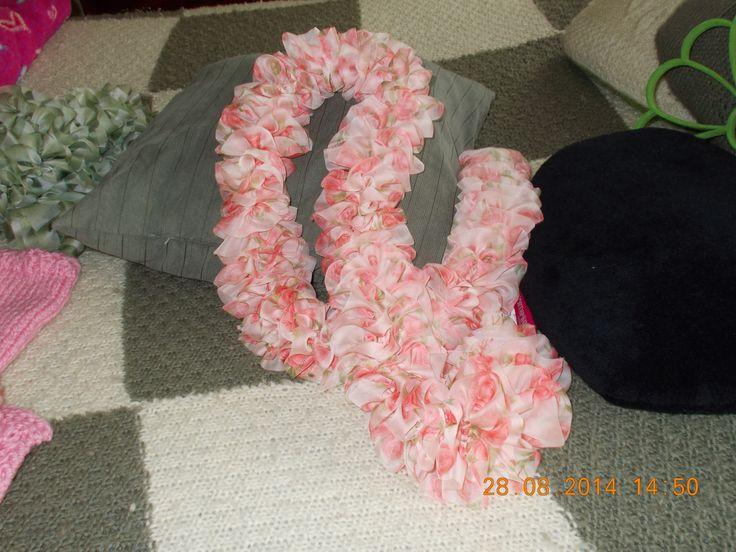 foulard tissu léger comme du voile
