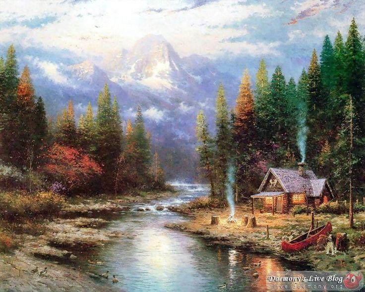Томас Кинкейд (Thomas Kinkade) – американский художник, названный прессой «Мастером Света». Родился 19 января 1958 в г.Сакраменто, Калифорния.