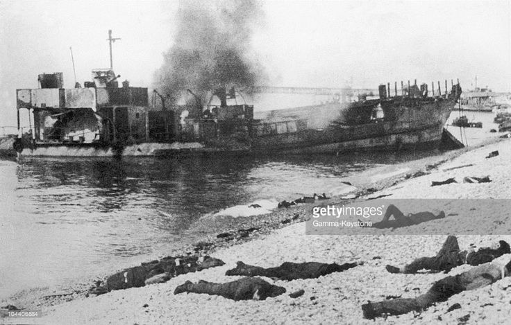 August 19, 1942. After the attempt to land Allied troops on the Dieppe beach…