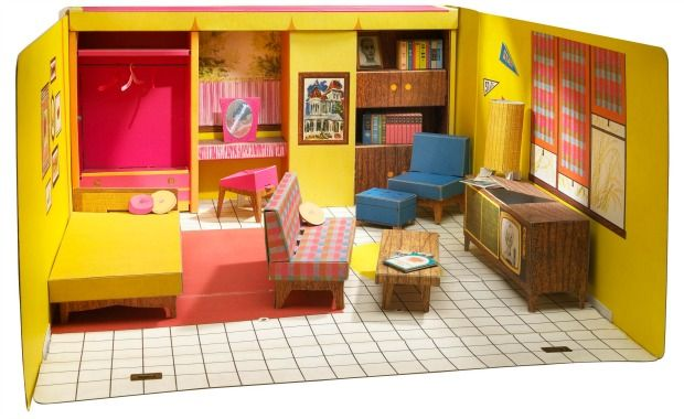 A Look Back at Barbie's Dreamhouse - Barbie's Dreamhouse Through the Years - Barbie's Dreamhouse, 1962.