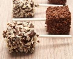 Sucettes de chamallows au chocolat faciles (rapide) - Une recette CuisineAZ